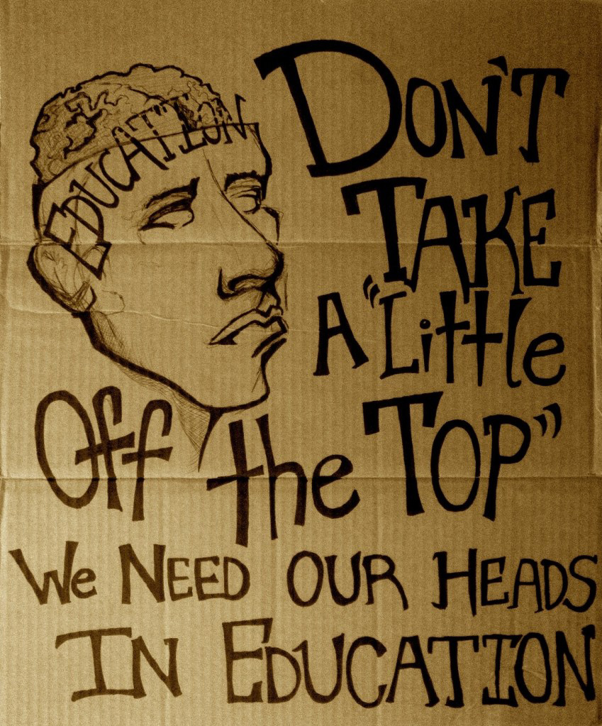 """A Little Off the Top"" by Michelle Sayles - Raging Chicken Contributor"