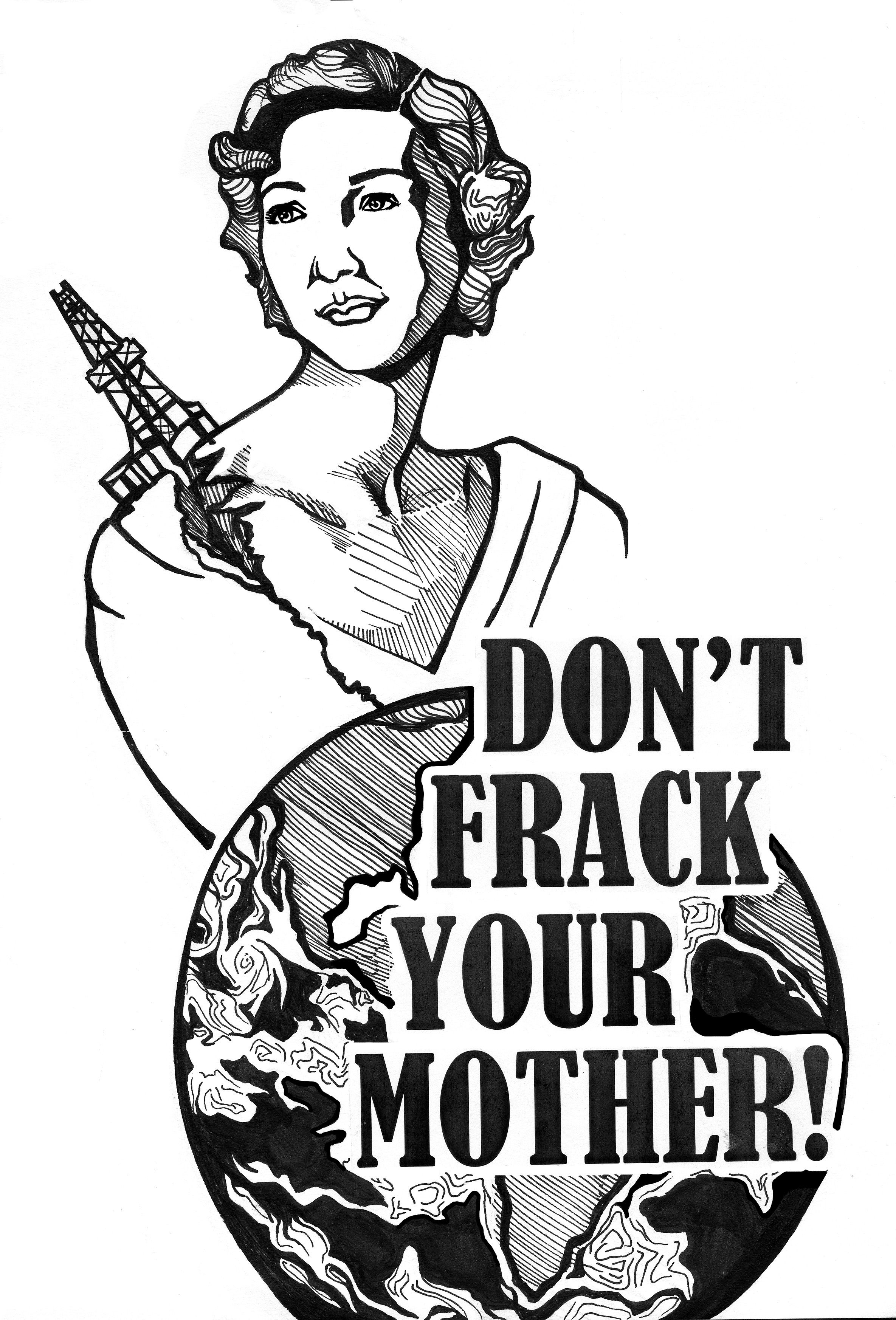 Don't Frack Your Mother – M Sayles