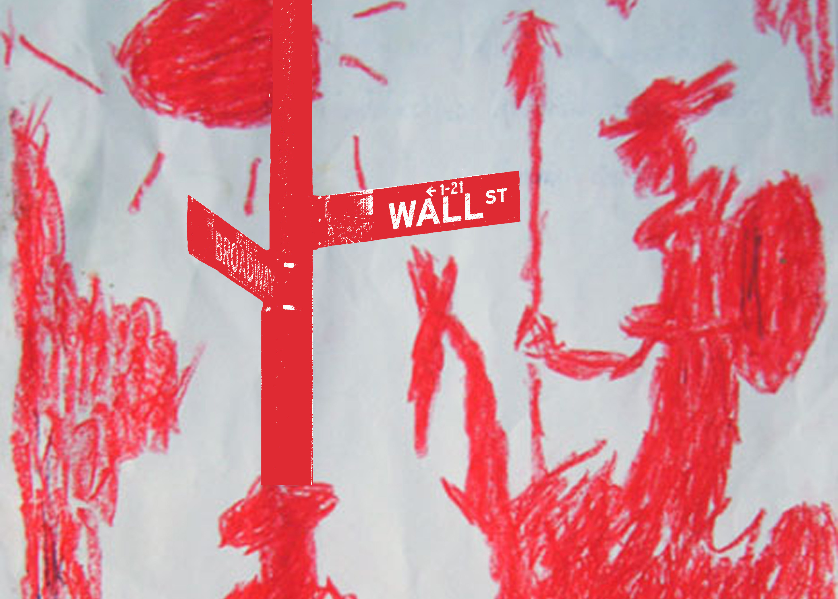 Don Quixote_Red_Horse_Cross_Continent and Wall Street Red Featured