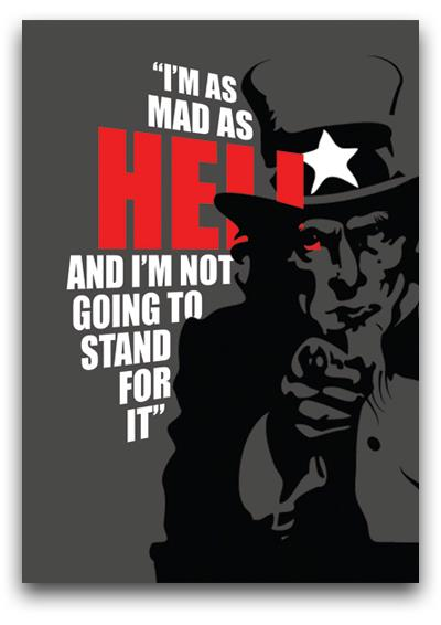 Uncle Sam Mad As Hell
