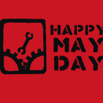 Happy May Day Featured Flag