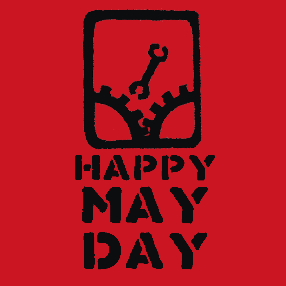 Happy May Day Square