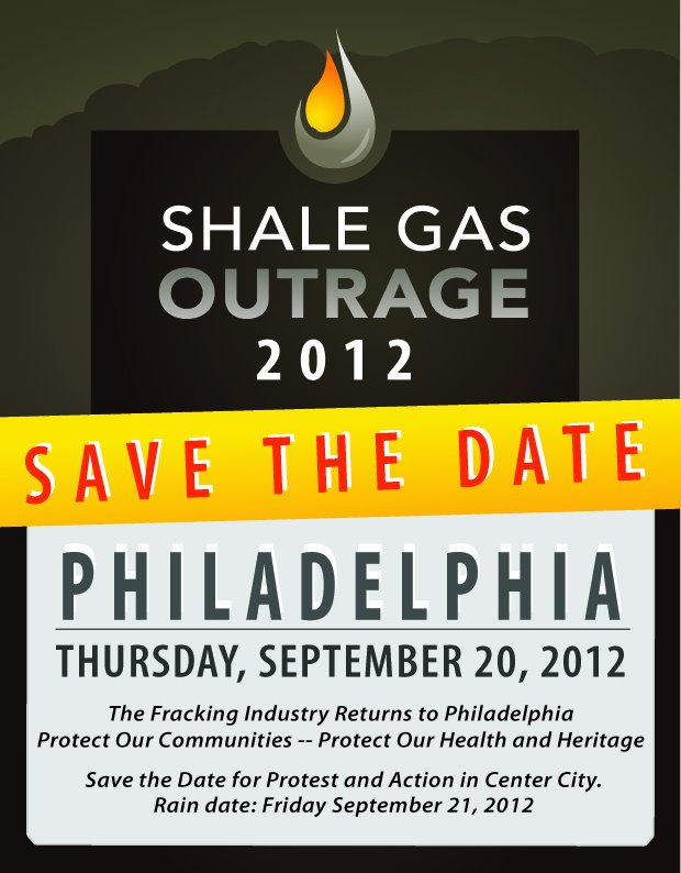 Shale Gas Outrage 2012