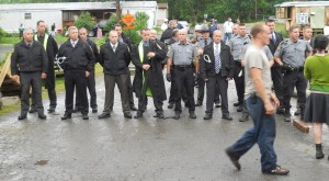 Police raid at Riverdale, June 12th, 2012