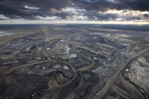 Syncrude Aurora Oil Sands Mine, Canada.