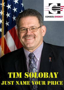 Tim Solobay, what's your price?