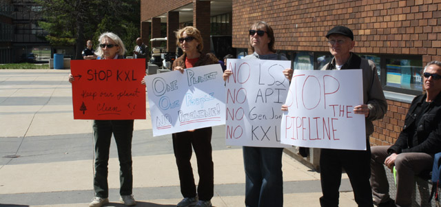 Iowa Keystone XL Protest