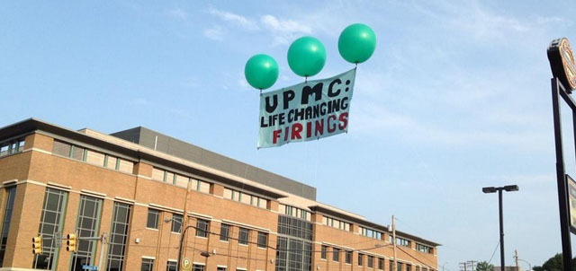 March on UPMC: Workers and Community Members Take to the Streets