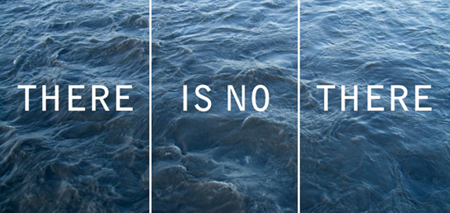 Photo Credit: Rebeca Mendez, There Is No There, 2009. Triptych.
