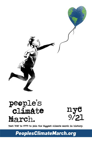 People's Climate March Baloon