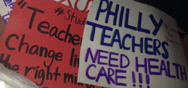 StudentStrikeSigns
