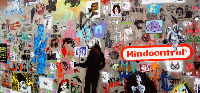 "Photo credit: James Nash, ""Mindcontrol Panorama,"" Spotted in Leake Street, London (underneath Waterloo Station), Flickr"