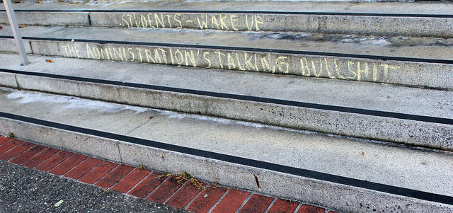 "Photo credit: Quinn Dombrowski, ""Students - wake up,"" Flickr"