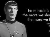 Spock on Sharing