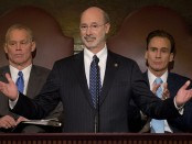 "Photo Credit: ""Governor Wolf delivers 2015-2016 budget speech,"" Gov. Tom Wolf, Flickr, March 3, 2015"