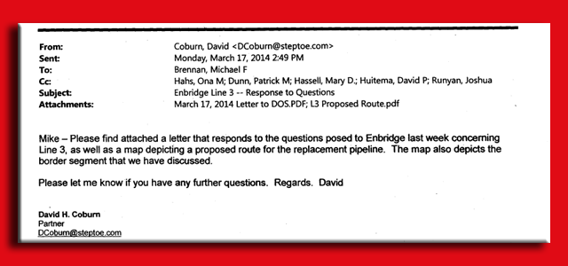 SHorn Enbridge Emails