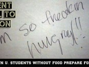 KU Students Hungry