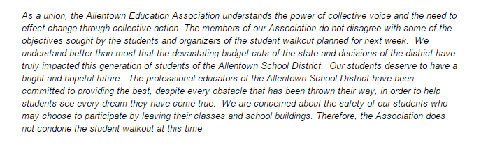 AEA Statement on Protests 9-24-2015