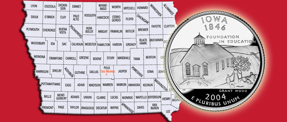 Iowa Coin Featured