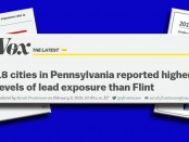PA Water Lead Levels