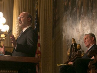 "Image credit: ""Behind-the-Scenes: Governor Wolf on Budget Day 2016,"" Gov. Tom Wolf. Flickr. Attribution 2.0 Generic (CC BY 2.0)"