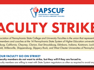 Facuty Strike Flyer